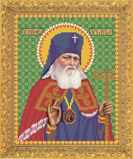 """Вышивка бисером """"Святой Лука"""