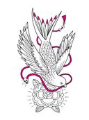 Авторская тату-раскраска — фото, картинка — 6