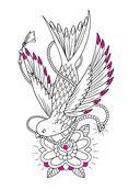 Авторская тату-раскраска — фото, картинка — 7