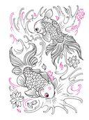 Авторская тату-раскраска — фото, картинка — 8