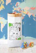 Эко-мешок для хранения игрушек
