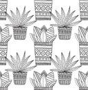 Cactus party. Раскраска-оазис для творчества и вдохновения — фото, картинка — 4