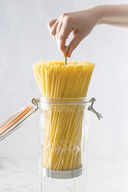Банка для спагетти стеклянная (2,2 л) — фото, картинка — 2