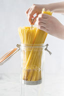 Банка для спагетти стеклянная (2,2 л) — фото, картинка — 3