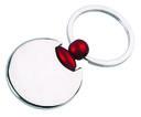 Брелок (круглый, красный) — фото, картинка — 1