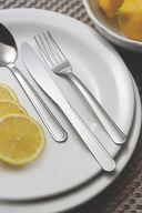 Нож столовый металлический