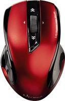 Лазерная беспроводная мышь Hama Mirano (black/red) — фото, картинка — 2