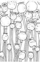 Зачарованный сад. Мини-раскраска-антистресс для творчества и вдохновения — фото, картинка — 4