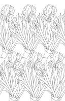 Зачарованный сад. Мини-раскраска-антистресс для творчества и вдохновения — фото, картинка — 8