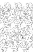 Зачарованный сад. Мини-раскраска-антистресс для творчества и вдохновения — фото, картинка — 9