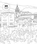 100 лучших мест планеты. Раскраска — фото, картинка — 12