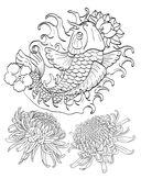 Татуировки. Раскраска-антистресс для творчества и вдохновения — фото, картинка — 8