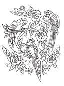 Татуировки. Раскраска-антистресс для творчества и вдохновения — фото, картинка — 9