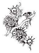 Татуировки. Раскраска-антистресс для творчества и вдохновения — фото, картинка — 6