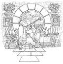 Волшебный мир Средиземья Дж. Р. Р. Толкина. Книга для творчества — фото, картинка — 6