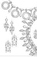 Шкатулка с драгоценностями. Мини-раскраска-антистресс для творчества и вдохновения — фото, картинка — 11