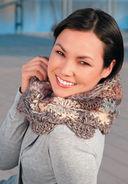 Объемные шарфы-снуды — фото, картинка — 3