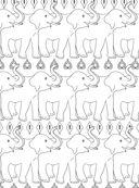 Дикие животные. Раскраска-антистресс для творчества и вдохновения — фото, картинка — 13