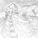 Магия городов. Медитативная раскраска для взрослых — фото, картинка — 12