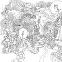 Магия городов. Медитативная раскраска для взрослых — фото, картинка — 5
