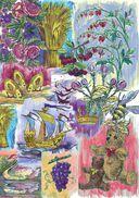 Путешествие бабочки на цветном карандаше — фото, картинка — 5