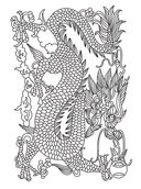 Рисунки и мотивы в китайском стиле — фото, картинка — 6
