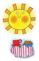 Облако Оля и Солнце — фото, картинка — 3