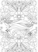 Райские птицы. Раскраска-антистресс для творчества и вдохновения — фото, картинка — 6