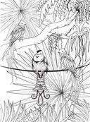 Райские птицы. Раскраска-антистресс для творчества и вдохновения — фото, картинка — 7