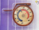 Термометр наружный в пластмассовом корпусе (арт. 410002) — фото, картинка — 1