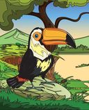Птицы. Раскраски из сказки — фото, картинка — 4