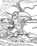 Птицы. Раскраски из сказки — фото, картинка — 5