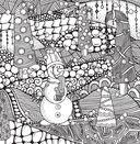 Новогодняя раскраска - сказка — фото, картинка — 5