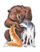 Русские сказки про животных для малышей — фото, картинка — 11