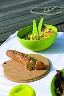 Салатник с крышкой и сервировочным набором (3 л) — фото, картинка — 3