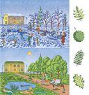 Книга для формирования представлений о времени и развития связной речи на основе лексических тем, изучаемых в детском саду — фото, картинка — 2