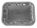 Поднос металлический (410х310 мм) — фото, картинка — 1